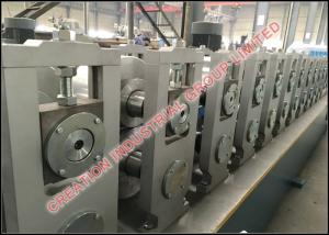 China Metal Omega Type Profile Sheet Roll Forming Production Line, Steel Rollforming Machine on sale