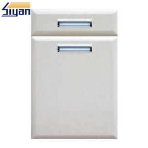 China Refacing White Modern Kitchen Cabinet Doors And Drawer Fronts 0.35mm Thickness on sale