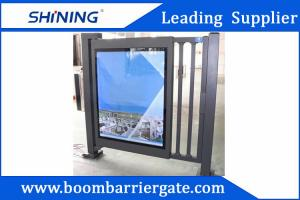China Aluminum Alloy Metal Automatic Swing Gate Door With Adjustable Led Scrips on sale