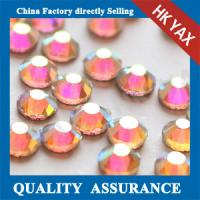 China China manufacturer hotfx crystal AB DMC stone, crystal DMC stone, wholesale crystal DMC stone on sale