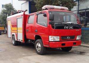 China 4 Tons 4CBM Water Foam Fire Brigade Truck Good Performance SGS Certification on sale