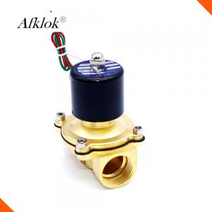 China Normally Closed Electric Water Valve High Pressure , 1/2 Inch Water Shut Off Valve on sale