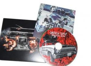 China Album Special Feature Music CD Box Sets Green Day Revolution Radio on sale