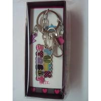 Epoxy resin charm pendants to keychains, exquisite poly resin key holders for holiday gift