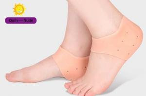 China heel cushion sock gel ankle sock &Heel Pad&Foot Heel Protector for daily on sale