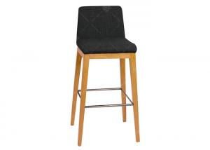 China Comfortable Indoor Commercial Bar Furniture Dinning Chair Bar Height Stools on sale