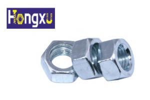 China DIN934 Hex Head Rivet Nut Gr 4 / Gr 6 / Gr 8 Grade Fasteners With Internal Threads,zinc plated on sale