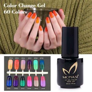 China Soak Off Chameleon Thermal Paint color changing gel UV LED Gel Polish on sale