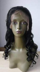 China Indian Remy Hair Lace front wig on sale