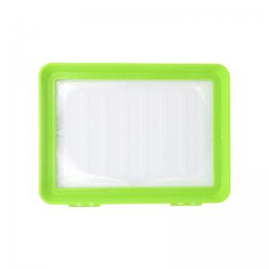 China Hot Selling Clever Tray New Idea Kitchen Vegetable Food Preservation Plastic Clever Tray on sale
