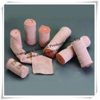 Medical Compression Bandages / Elastic Bandages Skin Color Protect Wounds And Sprained Ankle
