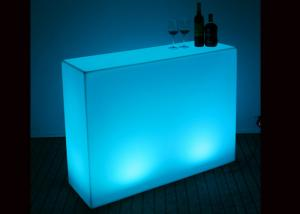 China Specific Use Illuminated Led Bar Table , Counter Light Up Furniture Modern Appearance on sale
