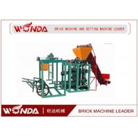 QTJ400 Hydraulic Cement Hollow Block Making Machine Semi Automatic Easy Operation
