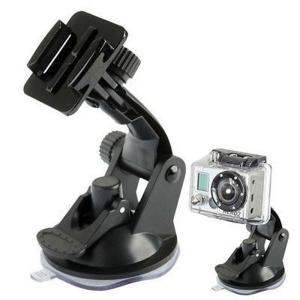 China GoPro Car Suction Cup Mount Adapter Window Glass Tripod For Go Pro Hero 4 3+ 3 2 1 Camera on sale