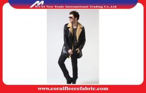 China Luxury Genuine Leather Long Trench Jacket for Men Winter  Sheep Skin Windbreaker Coat on sale