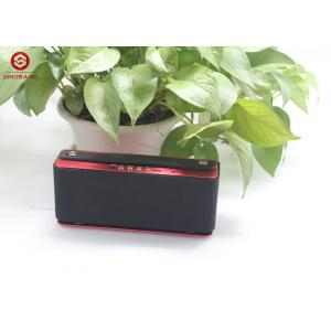 China Red Loud Portable Bluetooth Speaker , Active Wireless Bluetooth Speakers on sale