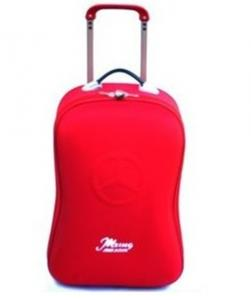 China Women Red Portable and fashionable design polyester/ nylon Trolley Bag on sale
