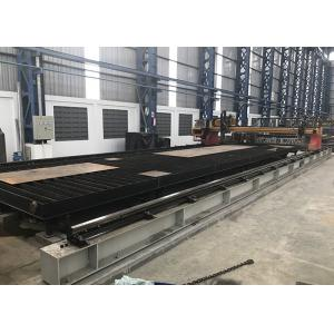 China 3 ~ 7 Meters Rail Span C And C Plasma Cutter , Automatic Cnc Gas Cutting Machine on sale