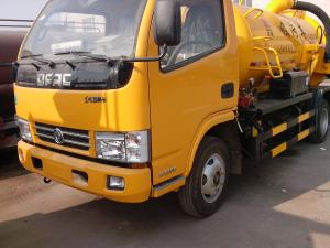 China Dongfeng duolika 4*2 7000 liters used sewage suction truck for sale on sale