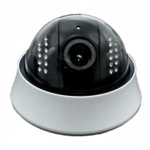 China Outdoor Real-time HD Dome IP Camera PoE , IR-15M With IR-cut , Vandal Proof on sale