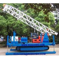 China Hydraulic Crawler Mounted Drilling Rig For Horizontal And Vertical Geotechnical Drilling on sale