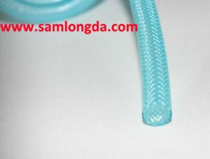 China PVC Braid Hose, Flexible PVC Hose,garden hose,3/4 inch, 100m/roll on sale
