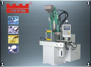 China Double slides vertical injection molding machine 35tf USB plug audio data wire injecton on sale