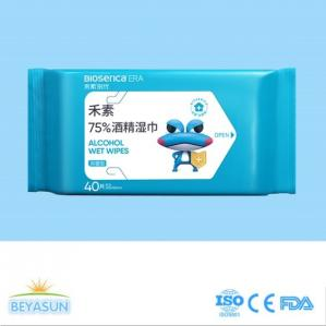 China 75% Medical Alcohol Anti Virus Babyganics Wipes Antiseptic Disinfectant Wet Wipes on sale
