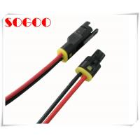 China LED Telecom Cable Assemblies TE Connector Waterproof IP67 Wire Harness on sale