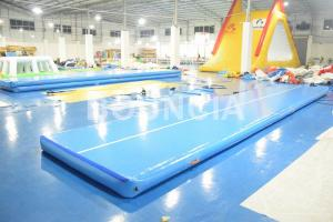 China Practice Inflatable Gymnastics Air Track on sale