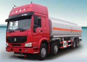 China 6x4 HOWO Chassis  336HP Euro 2 Euro 3 Emission Cabon Steel  20000L Diesel  Fuel Tanker Truck on sale