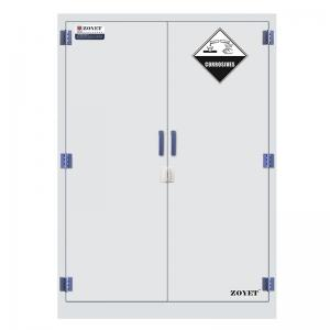 China Right Open Anti Corrosive Polypropylene Storage Cabinets For Chemical Medicine 90 gallon on sale