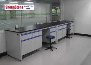 China Chemical Laboratory Epoxy Resin Worktop , Square Edged Laminate Worktops on sale