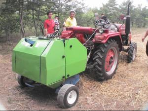 China round hay baler on sale
