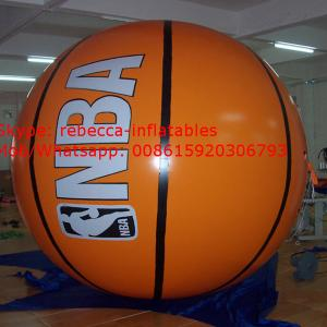 China inflatable advertising balloon inflatable basketball advertising balloon on sale