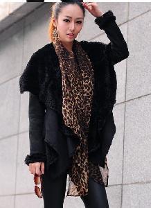 China 2012 Autumn Ladiesa€2 Leather Coat, New Model (PYAR-006) on sale