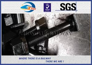 China High Quality Railway Square Head Bolts,nuts and washer with Grade 10.9 material on sale