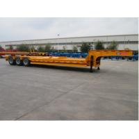 Low Bed Container Delivery Trailer Light Tare Weight CIMC Concave Type
