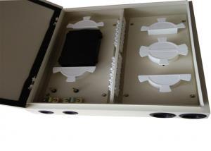 China ODF 24 Fc Port Wall Mount Patch Panel Enclosure , Fiber Optic Terminal Box on sale
