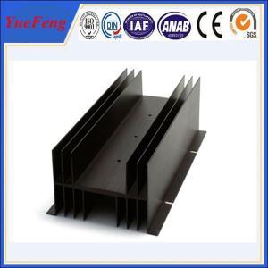China Customized electronic enclosure extruded aluminum manufacturer, fin aluminum profiles on sale