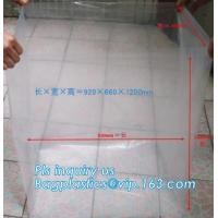 Disposable PE Plastic Pallet Covers bag on Roll, Waterproof Pallet Cover Plastic PE for Europallet 80x120x250 cm, BAGEAS