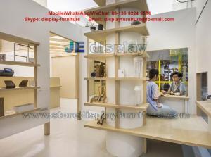 Cake Store Daily necessities Shop Interior design wood display