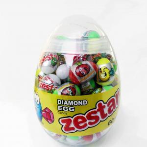 China Diamond and Dinosaur Egg Shape Healthy Hard Candy , Pop Snack Children's Love on sale
