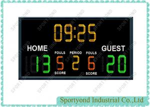 China Sports Wireless Scoreboard For Basketball 7 Segment LED Display on sale