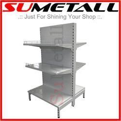 China Gondola shelvings and supermarket shelf from China shopfitting supplier on sale