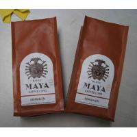 Matte Surface Quad Seal Mexico Type Coffee Tea Bags With Air Evaculation Valve