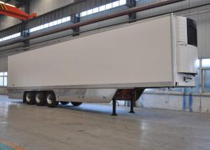 China 45ft Tri Axles Refrigerated Truck Trailer With Thermoking Refrigerator Units on sale