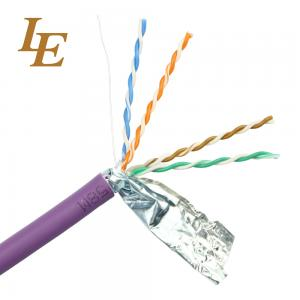 China Twisted Ethernet Network Lan Cable Customizable U / UTP Cat 5e 4 In 1 Unshielded on sale