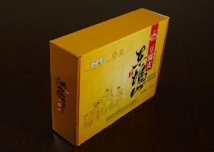 China Disposable Custom Printed Food Paper Packaging Boxes ZY-FO01 With CMYK Full Color on sale