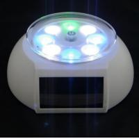 OEM Solar Powered Gadgets Solar Rotating Display Stand Colorful Lights